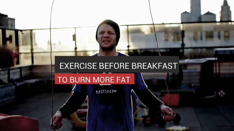 Exercise Before Breakfast To Burn More Fat