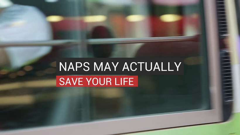 Naps May Actually Save Your Life