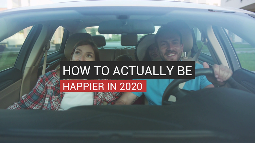 How To Actually Be Happier In 2020