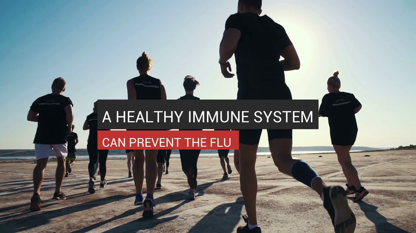 A Healthy Immune System Prevents The Flu