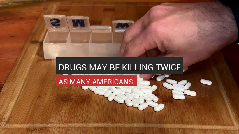 Drugs May Be Killing Twice As Many Americans