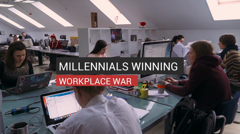Millennials Winning Workplace War