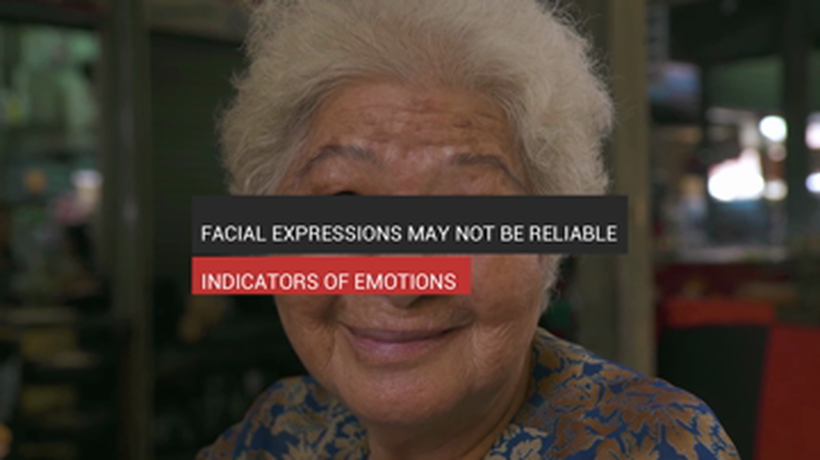 Facial Expressions May Not Be Reliable Indicators