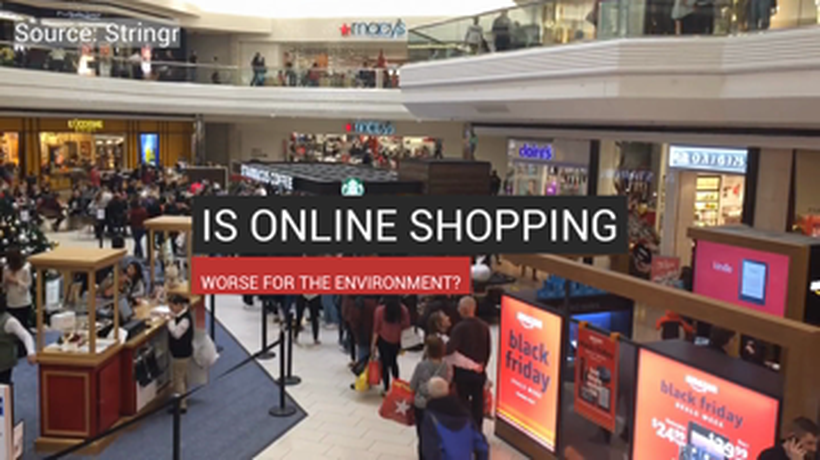 Online Shopping Could Be Worse For The Environment