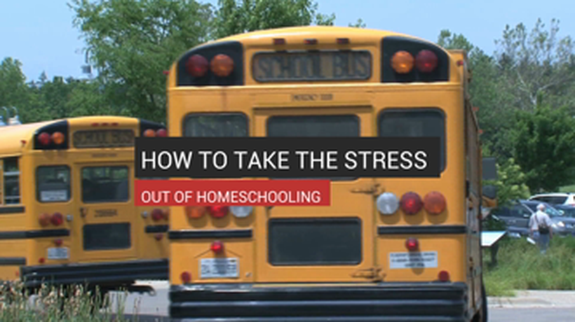 How to take the stress out of homeschooling