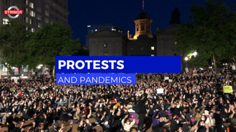 How people are protesting in the time of pandemic