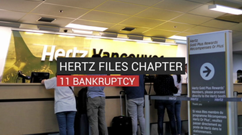 Hertz Files Chapter 11 Bankruptcy