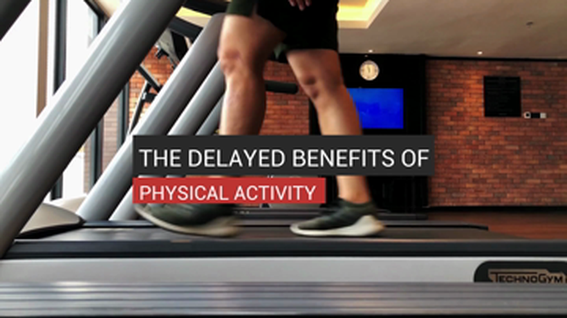 The Delayed Benefits of Physical Activity