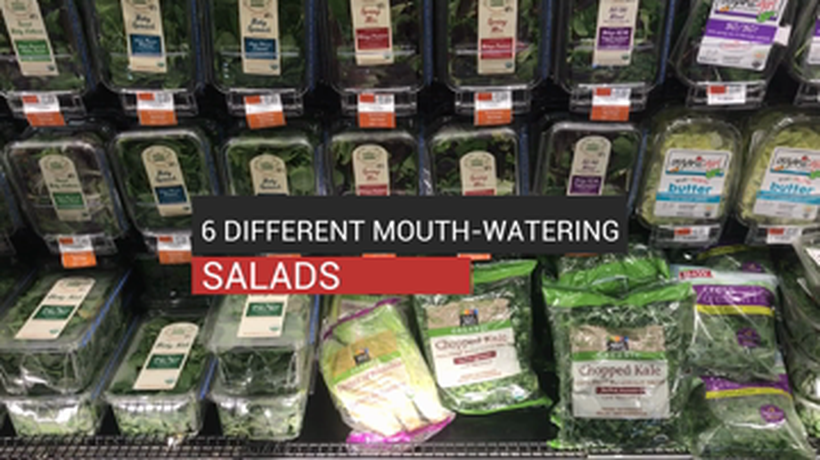 6 Different Mouth-Watering Salads