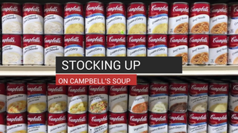 Stocking Up On Campbells Soup