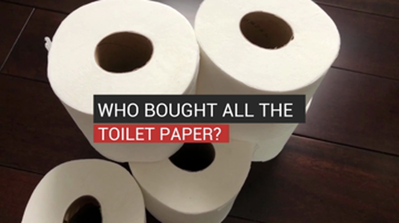 Who Bought All The Toilet Paper?