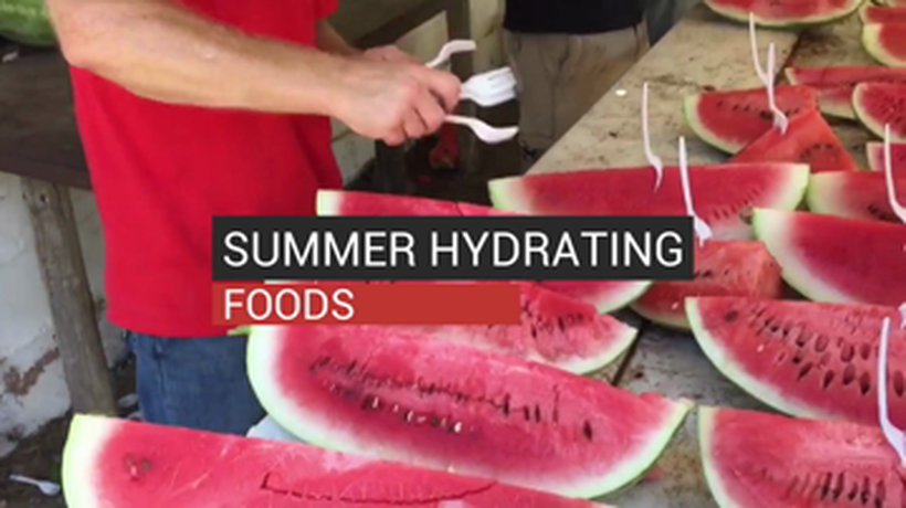 Summer Hydrating Foods