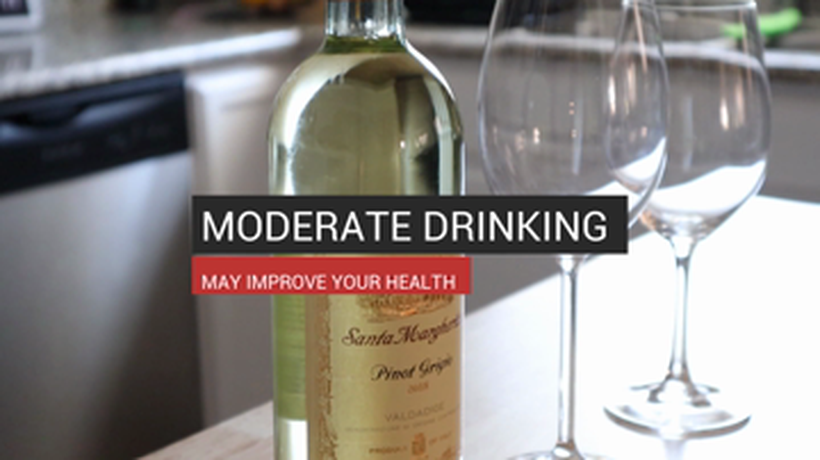 Moderate Drinking May Improve Your Health