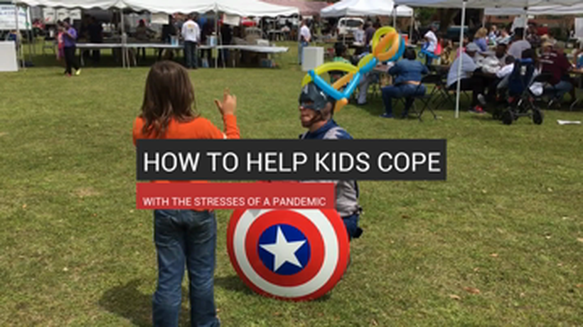 How to Help Kids Cope with Stress