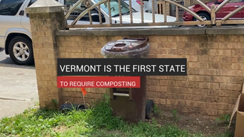 Vermont The First State to Require Composting - Subtitled