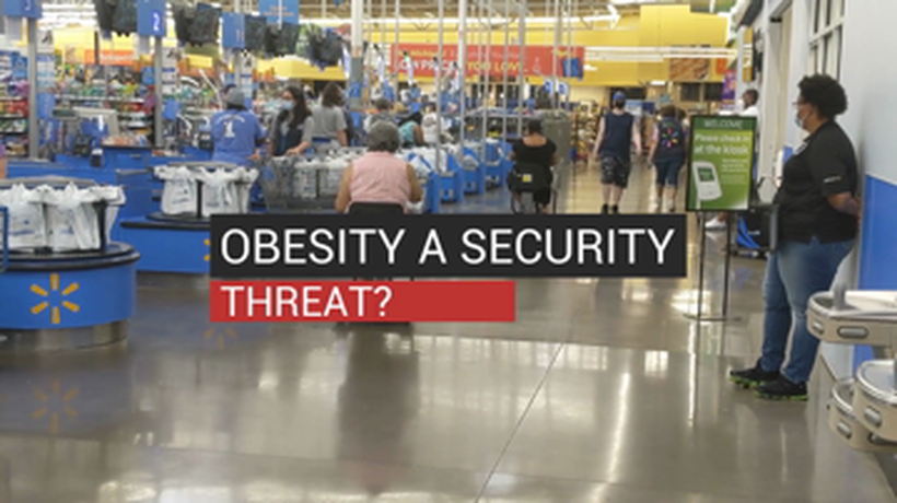 Obesity Security Threat