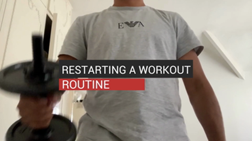 Restarting a Workout