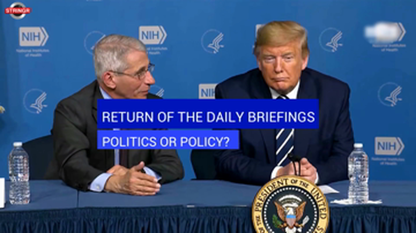 Return of the Daily Briefings: Policy or Politics? - Subtitled
