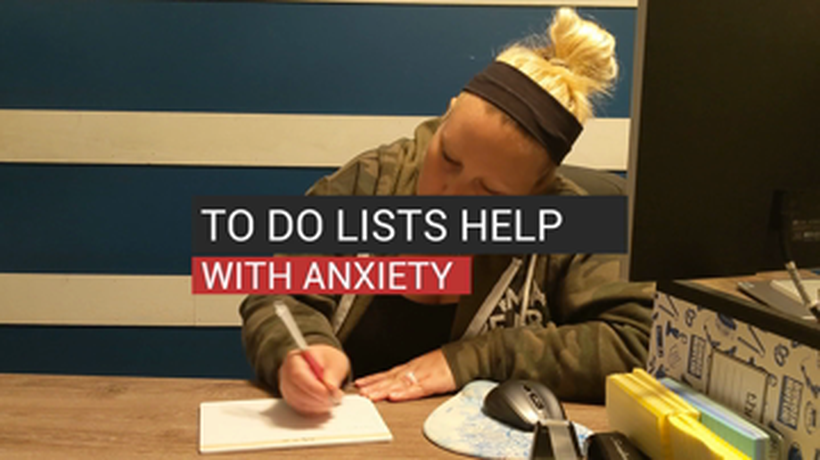To Do Lists Help With Anxiety