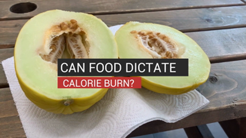 Can Food Dictate Calorie Burn?