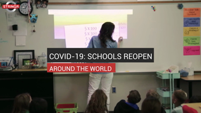 COVID-19: Schools Reopen Around The World