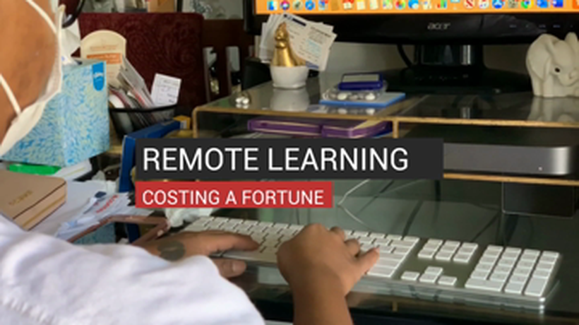 Remote Learning Costing a Fortune
