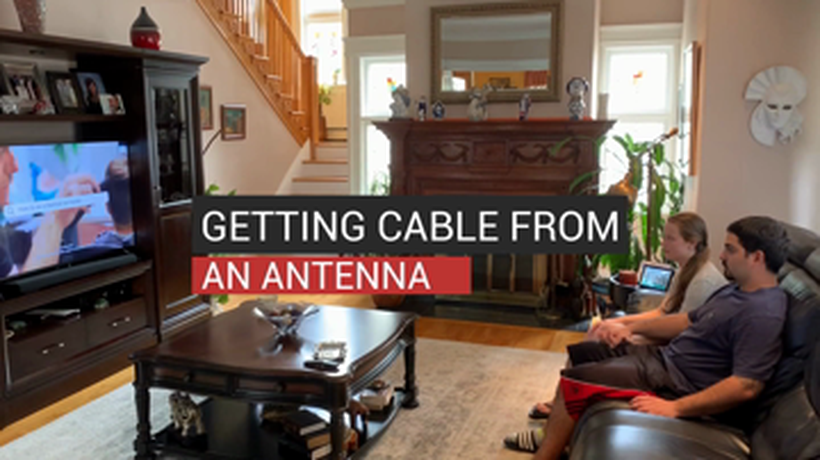 Getting Cable From An Antenna