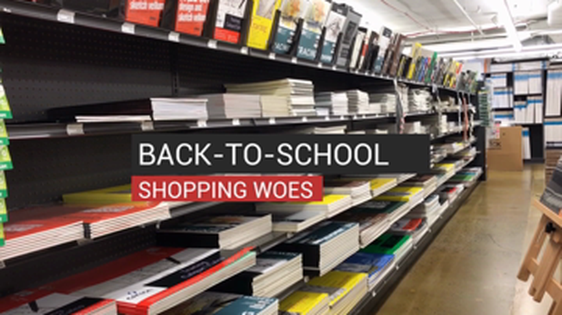 Back to School Shopping Woes