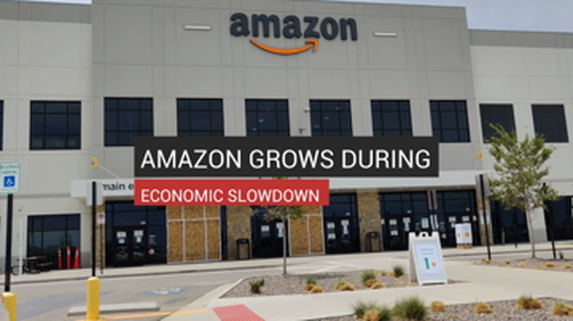 Amazon Grows During Economic Slowdown