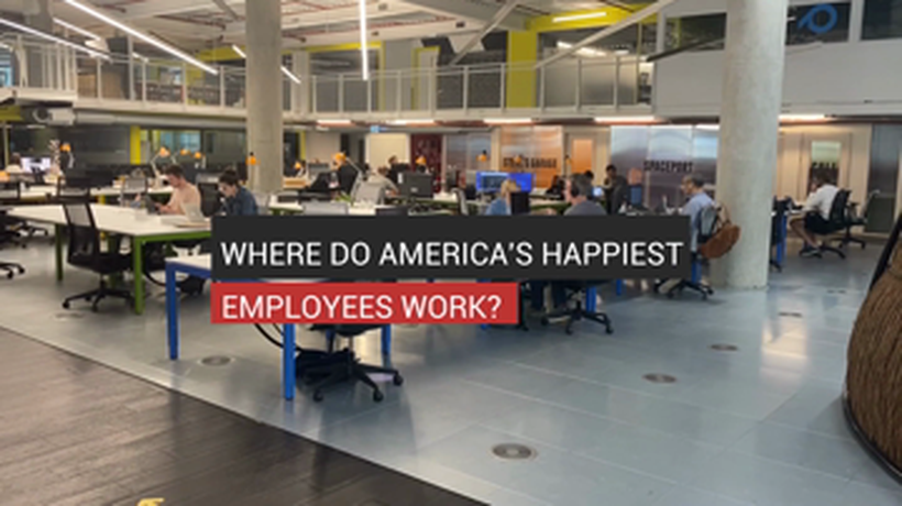 Where Do America's Happiest Employees Work?