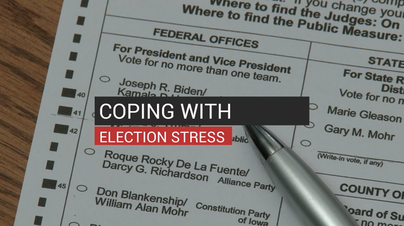 Coping With Election Stress