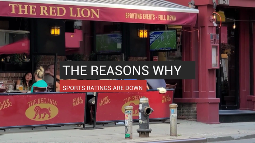 The Reasons Why Sports Ratings Are Down