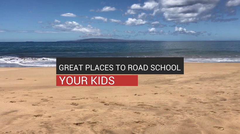 Great Places to Road School Your Kids