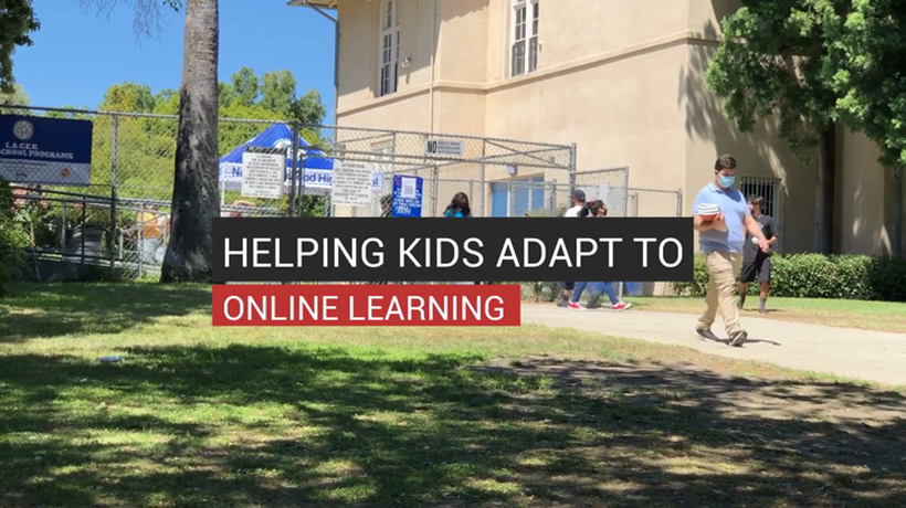 Helping Kids Adapt to Online Learning