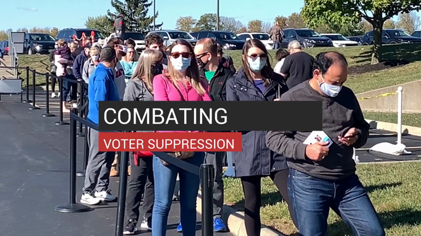 Combating Voter Suppression