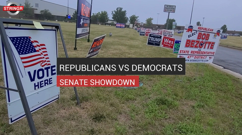 Republicans Vs Democrats Senate Showdown