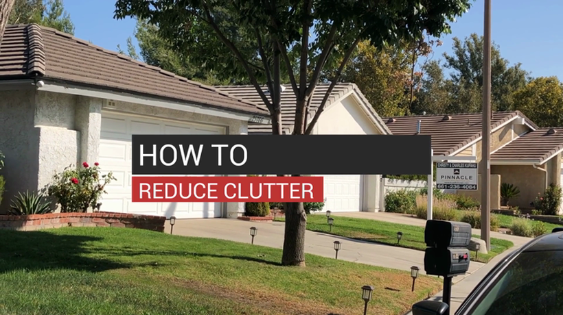 How to Reduce Clutter