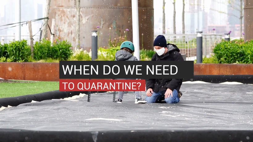 When Do We Need to Quarantine?