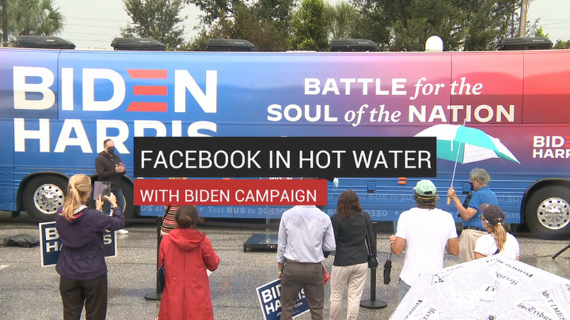 Facebook in Hot Water With Biden Campaign