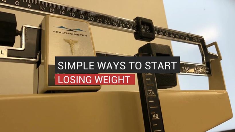 Simple Ways To Start Losing Weight
