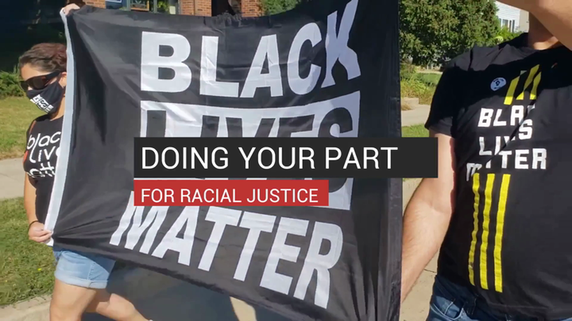 Doing Your Part For Racial Justice