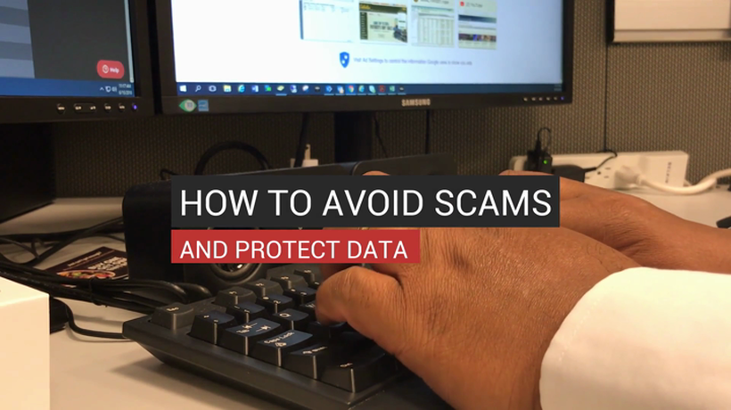 How to Avoid Scams and Protect Data