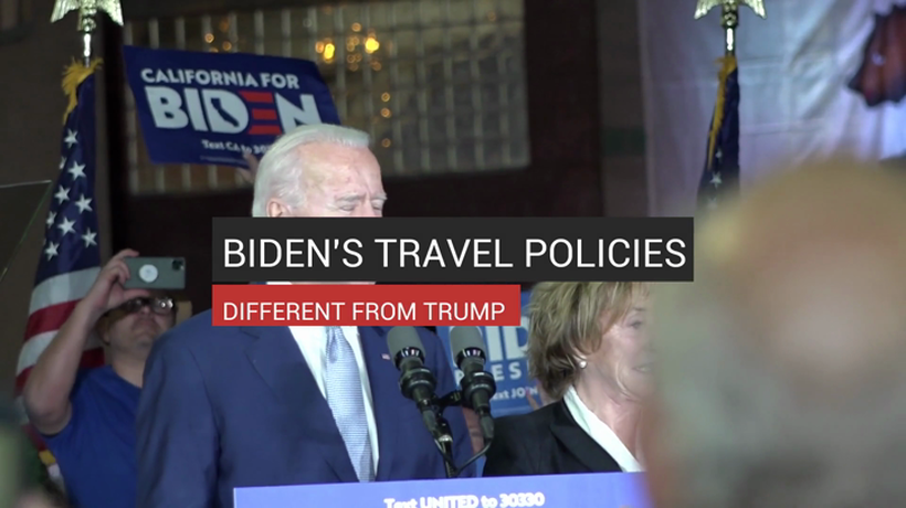 Biden's Travel Policies Different From Trump