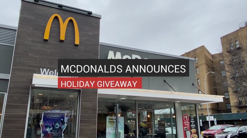 McDonalds Announces Holiday Giveaway