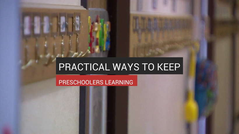 Practical Ways To Keep Preschoolers Learning