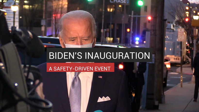 Biden's Inauguration A Safety-Driven Event