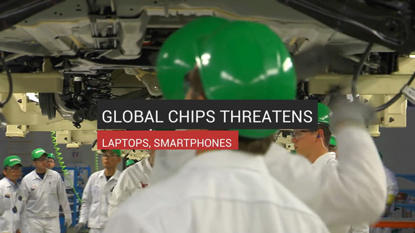 Global Chips Shortage Threatens Laptops And Smartphones