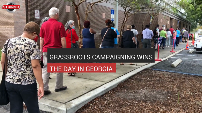 Grassroots campaigning wins the day in GA
