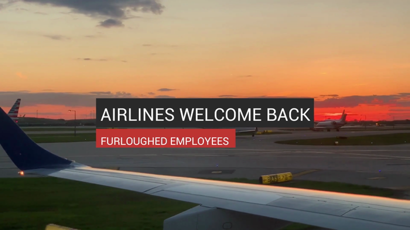 Airlines Welcome Back Furloughed Employees