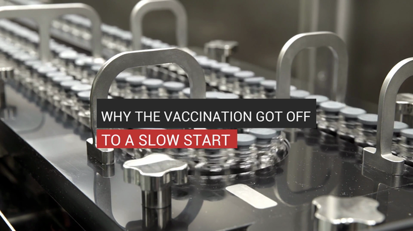 Why The Vaccination Got Off To A Slow Start